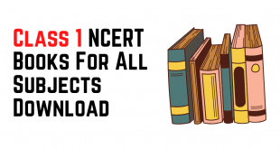 [PDF] Class 1 NCERT Books For All Subjects Download