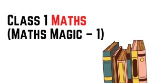 [Pdf] NCERT Books For Class 1 Maths (Maths Magic – 1) Download