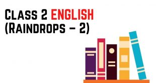 [Pdf] NCERT Books For Class 2 ENGLISH (Raindrops – 2) Download